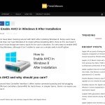 How to Enable AHCI in Windows 8 After Installation - iThinkDifferent