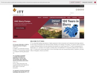Screenshot for ittindia.in
