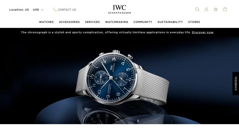 www.iwc.com Vorschau, IWC International Watch Co., Branch of Richemont International SA