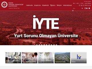 iyte.edu.tr için Ekran Görüntüsü