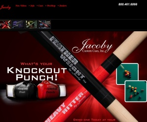 http://www.jacobycustomcues.com