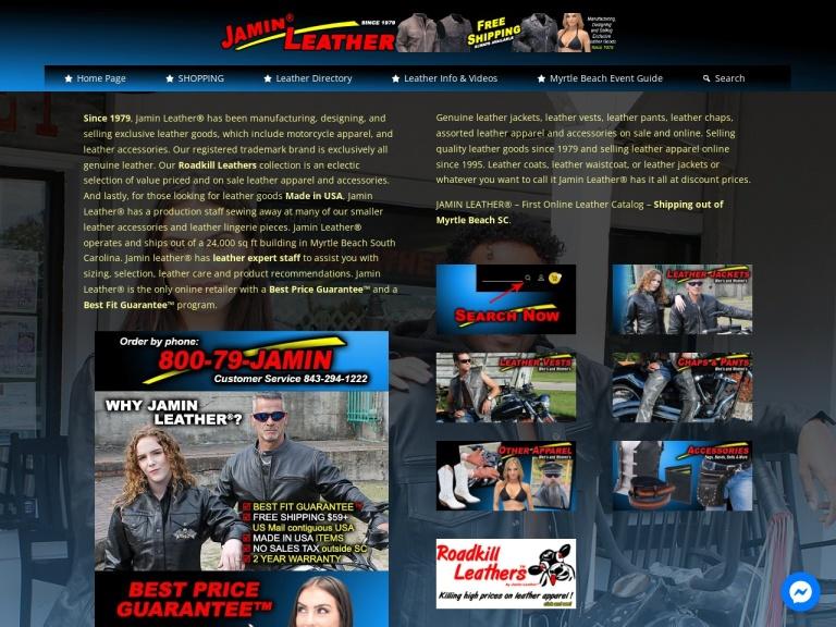 Jamin Leather screenshot