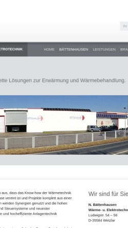 Vorschau der mobilen Webseite www.janitza-gmbh.de, Eugen Janitza GmbH