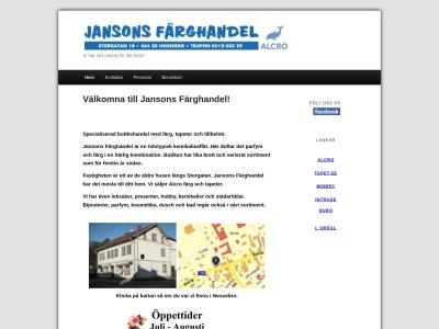 www.jansonsfarghandel.se