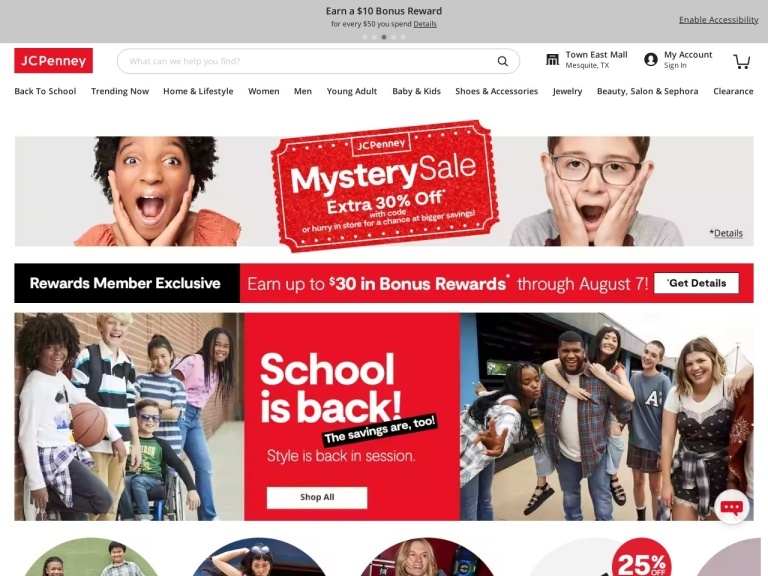 Jcpenney Affiliate screenshot