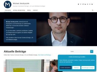 Screenshot der Website jendryschik.de