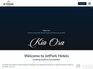 Screenshot for jetpark.co.nz