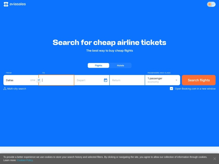 Jetradar.com - Cheap Flights From Dozens Of Travel Sites screenshot