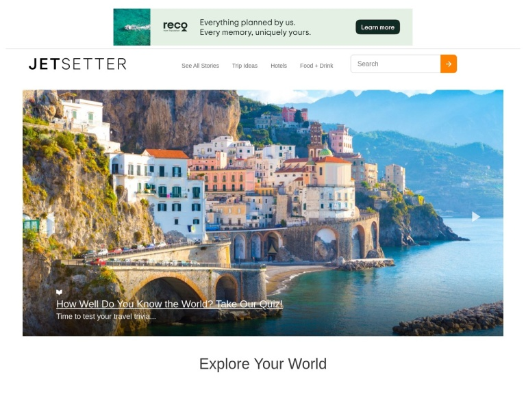 Jetsetter, A Tripadvisor Company Coupon Codes