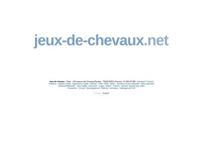 Jeux-de-Chevaux.net : Jeux de chevaux gratuits