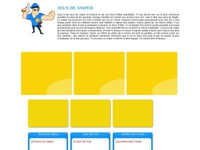 Jeux de snipers gratuits - JeuxdeSniper.fr