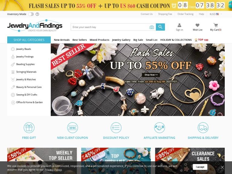 jewelryandfindings screenshot