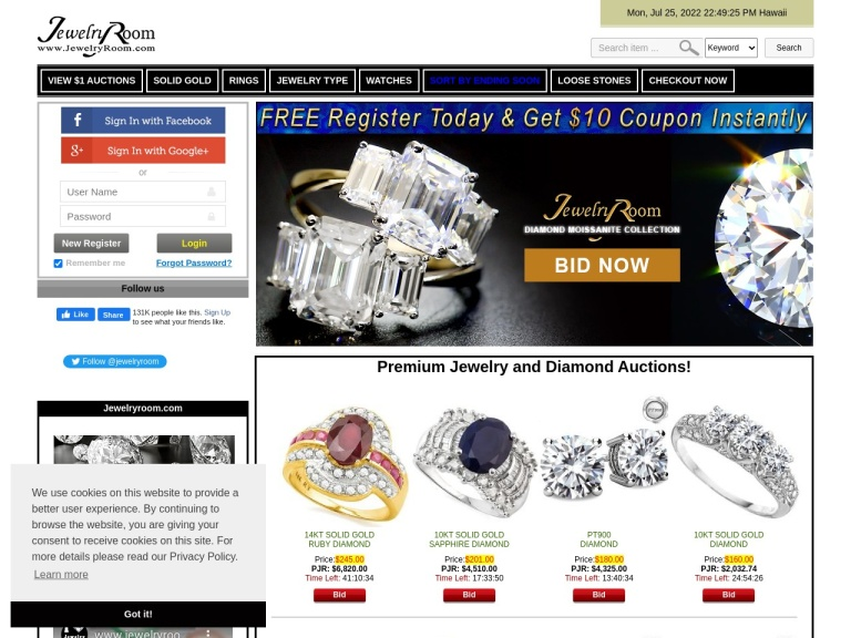 Jewelry Room Coupon Codes