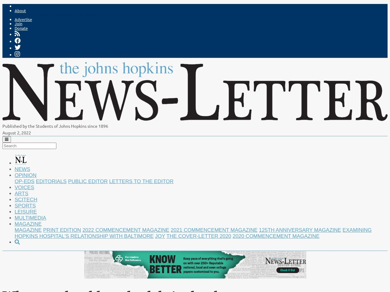 Why you should read celebrity books | The Johns Hopkins …