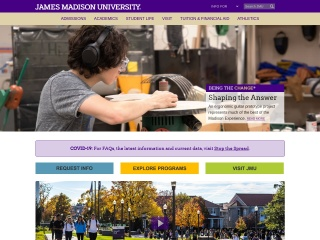 Screenshot for jmu.edu