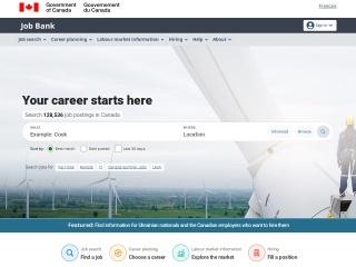 Screenshot for jobbank.gc.ca