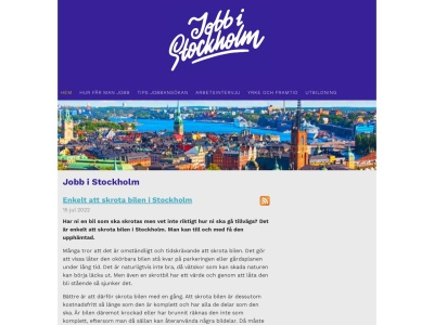 www.jobbistockholm.se