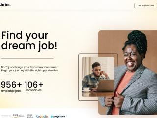 Screenshot for jobs.com.gh