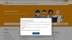 www.jobvector.com Vorschau, Jobvector - Capsid GmbH