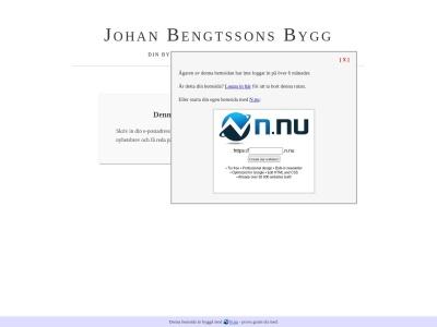 www.johanbengtssonsbygg.n.nu