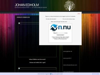 www.johanedholm.n.nu