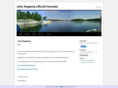 www.johnrogberg.n.nu