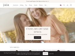 Joie Clothing & Accessories For Women screenshot