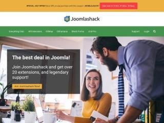 Capture d'écran pour joomlashack.com