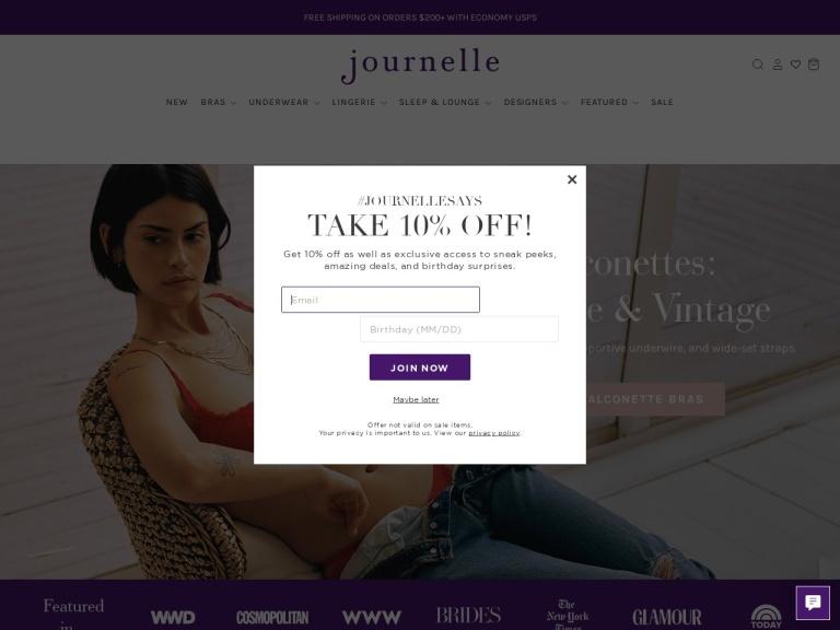 Journelle screenshot