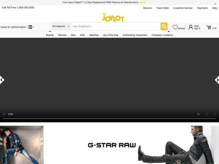 JoyLot.com screenshot