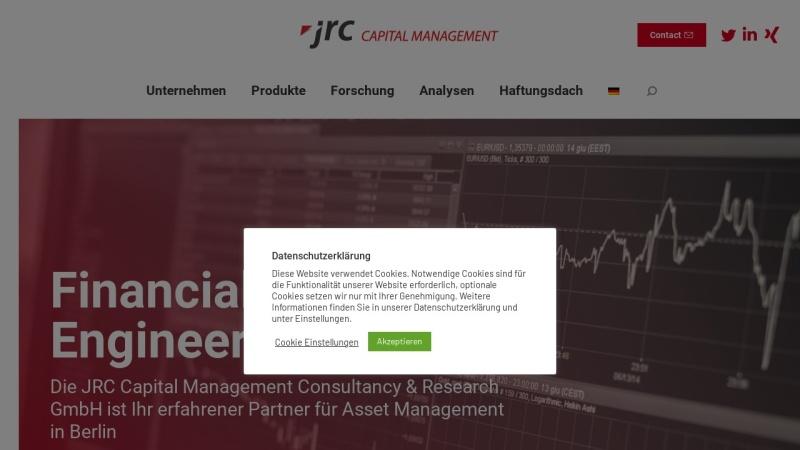 www.jrconline.com Vorschau, JRC Capital Management Consultancy & Research GmbH