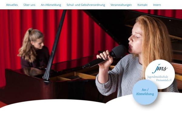 Vorschau von www.jugendmusikschule-dreisamtal.de, Jugendmusikschule Dreisamtal e.V.