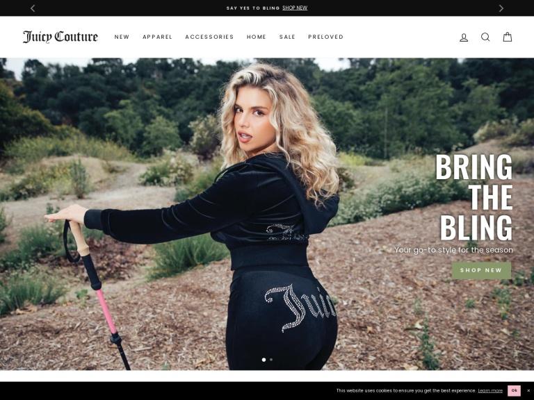 Juicy Couture screenshot