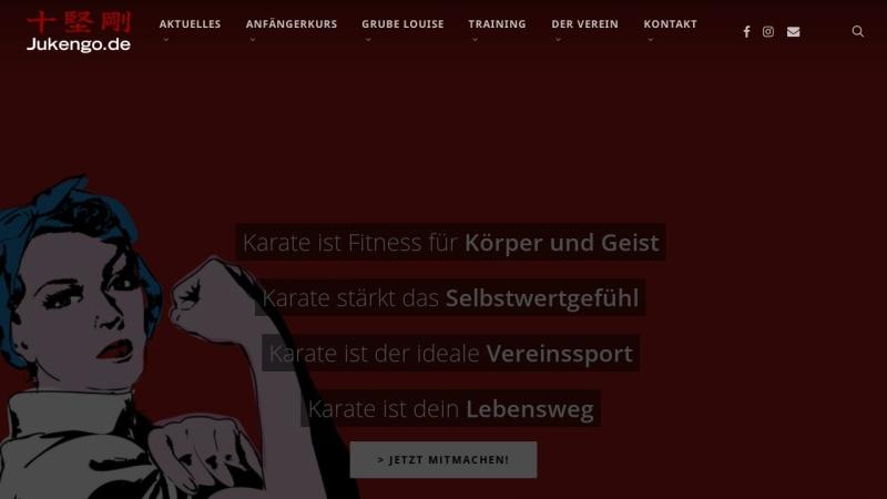 www.jukengo.de Vorschau, Karate Dojo Ju Kengo e.V.