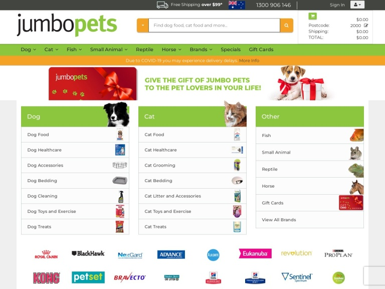 Jumbo Pets screenshot