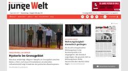 www.jungewelt.de Vorschau, Junge Welt