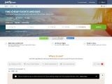 JustFly.com screenshot