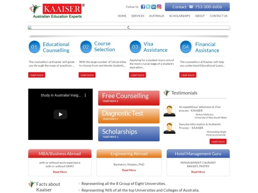 Planning to study in Australia? Leave all your worries of admission, visa and accommodation to us!