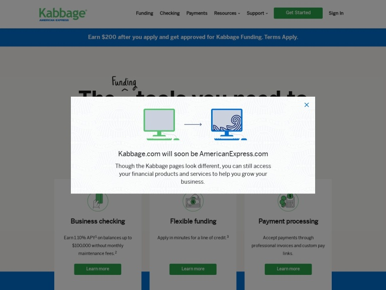 Kabbage Working Capital screenshot