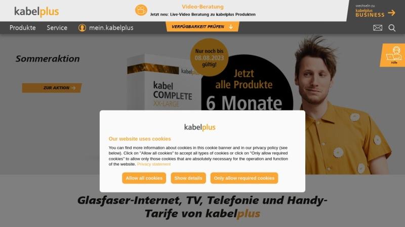 www.kabelplus.at Vorschau, Kabelplus GmbH
