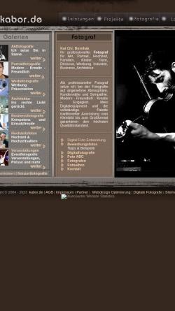 Vorschau der mobilen Webseite www.kabor.de, Kai-Christopher Bornhak
