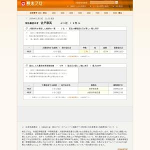 株主プロ 【 大量保有報告書 提出者 | 佐戸康高 保有銘柄検証 】