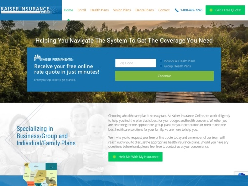 Health Care Insurance Quotes – Kaiser Health Plans