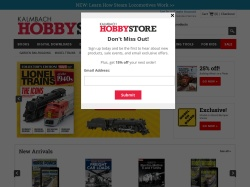 Kalmbach Hobby Store Promo Codes 2018