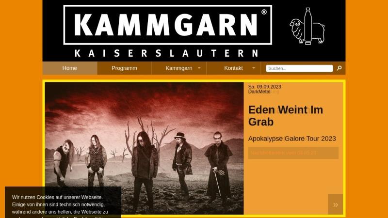 www.kammgarn.de Vorschau, Kammgarn Kulturzentrum