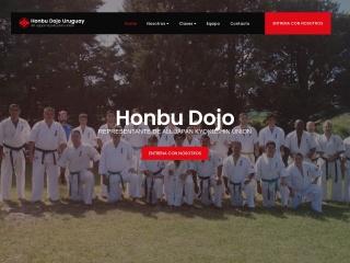 Captura de pantalla para karate.com.uy