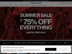 http://www.karenmillen.com coupon and discount codes