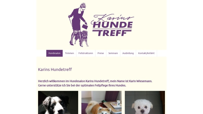 www.karins-hundetreff.de Vorschau, Karins Hundetreff
