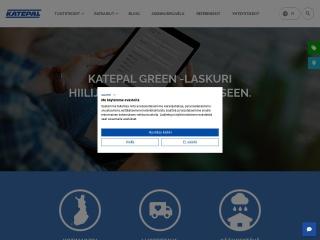 Screenshot for katepal.fi