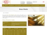 Brass Sheets Manufacturer in India – keicopper
